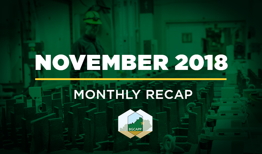 BGCAPP Monthly Recap: November 2018