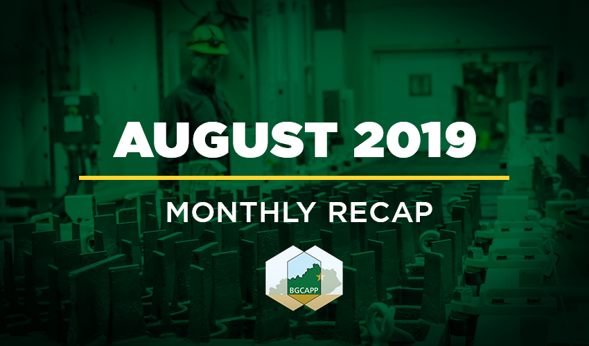 BGCAPP August 2019 Monthly Recap
