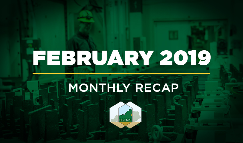 BGCAPP Monthly Recap February 2019