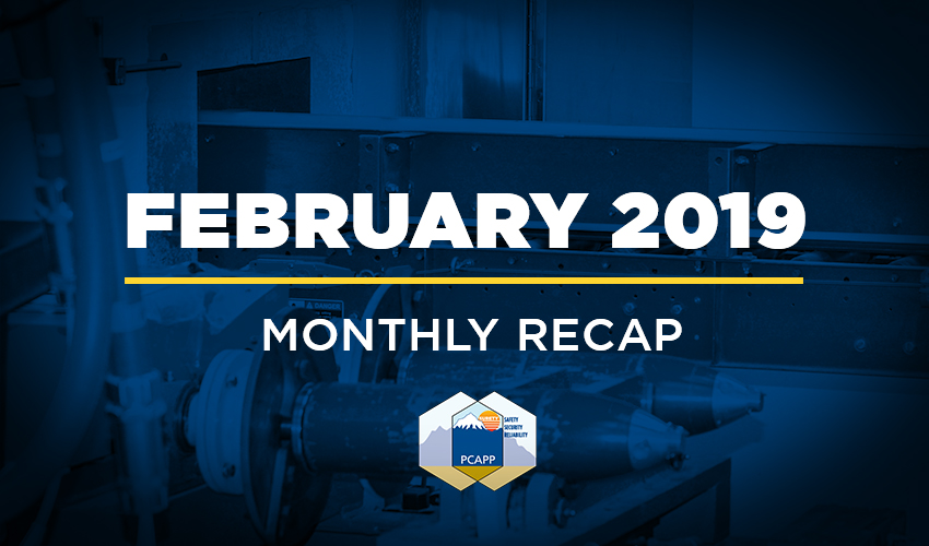 PCAPP February 2019 Monthly Update