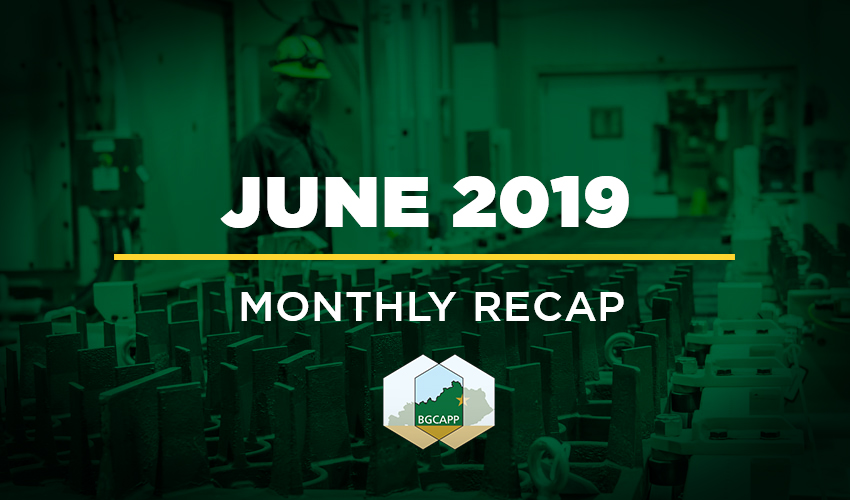 BGCAPP Monthly Recap – June 2019