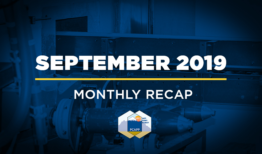 PCAPP Recap September 2019