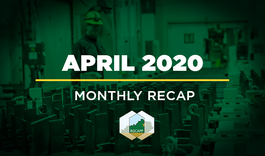 BGCAPP Monthly Recap - April 2020