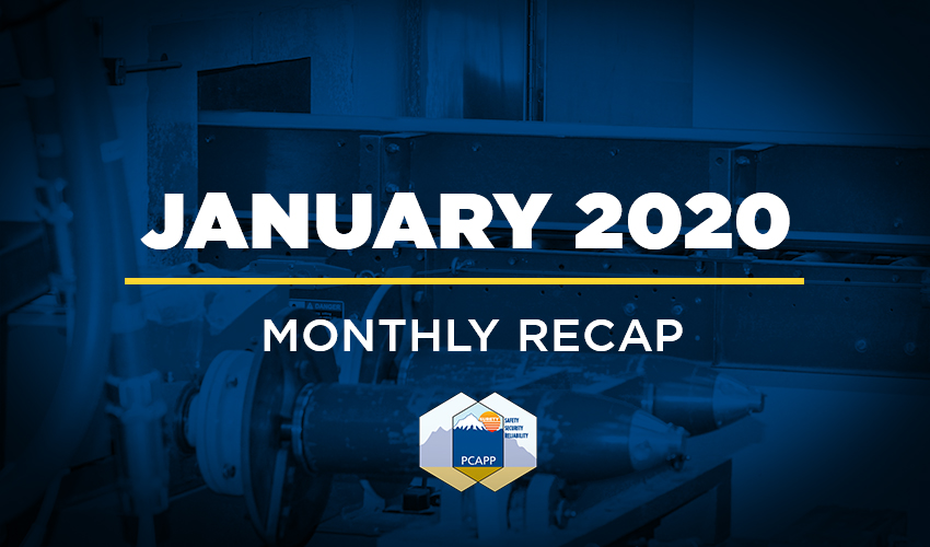 PCAPP Recap January 2020