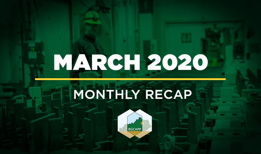 BGCAPP Monthly Recap - March 2020