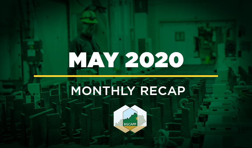 BGCAPP Monthly Recap - May 2020