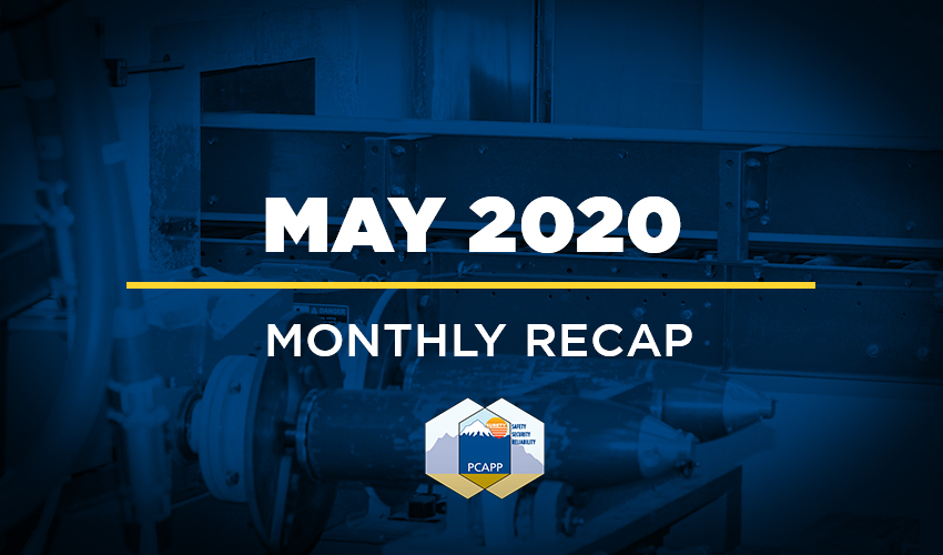 PCAPP Monthly Recap - May 2020