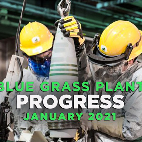 Blue Grass Plant Progress – January 2021