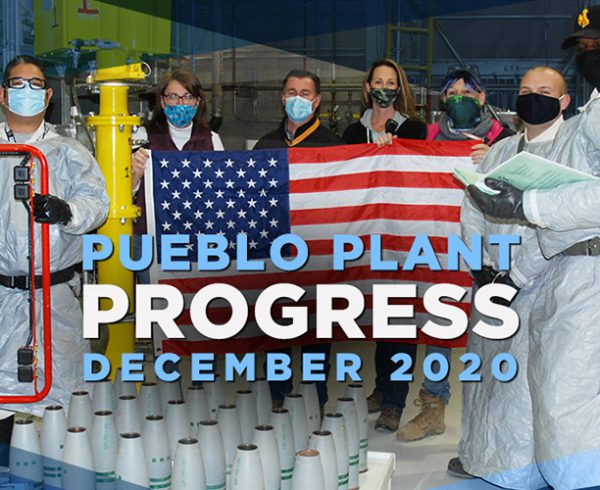 Pueblo Plant Progress - December 2020