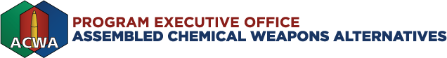 Program Executive Office, Assembled Chemical Weapons Alternatives (PEO ACWA)