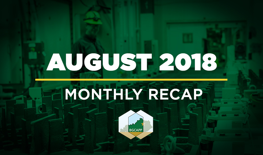 BGCAPP Monthly Recap: August 2018