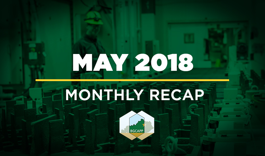 BGCAPP Monthly Recap: May 2018