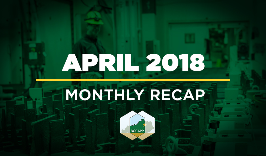 BGCAPP Monthly Recap: April 2018