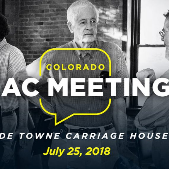 Video: Colorado CAC Meeting (25 July 2018)
