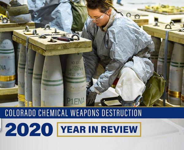 Colorado Chemical Weapons Destruction: 2020 Year in Review