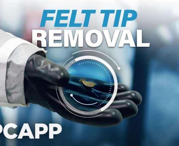 Felt Tip Removal at PCAPP