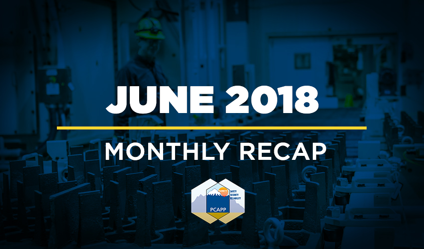 PCAPP Monthly Recap: June 2018