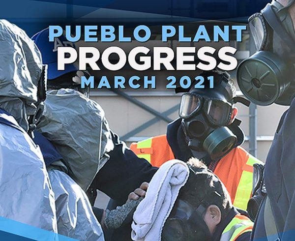 Pueblo Plant Progress – March 2021