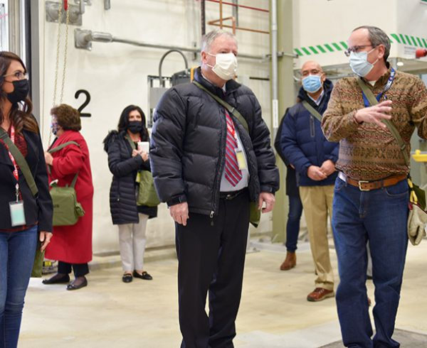 Colorado Congress Members Tour Pueblo Plant