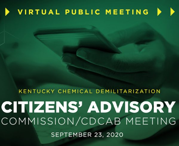 Public Meeting Changes to Virtual Platform